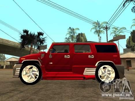 Hummer H2 NFS Unerground 2 für GTA San Andreas linke Ansicht