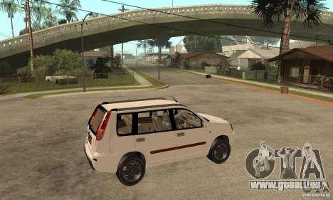 Nissan X-Trail für GTA San Andreas rechten Ansicht