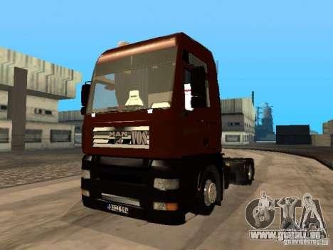 MAN TGA Vos Logistics pour GTA San Andreas