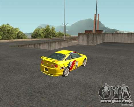 Chevrolet Cobalt SS für GTA San Andreas zurück linke Ansicht