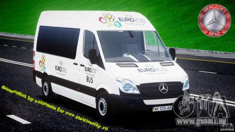 Mercedes-Benz Sprinter Euro 2012 für GTA 4