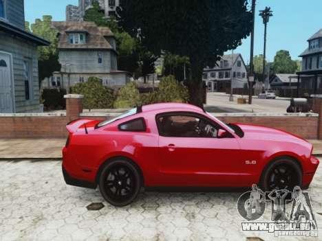 Ford Mustang GT 2011 pour GTA 4 est un droit