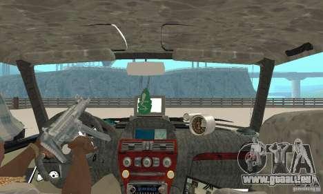 Tunning de VAZ 2106 Fantasy ART pour GTA San Andreas vue arrière