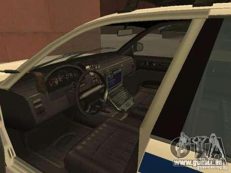 Die Polizei von GTA4 für GTA San Andreas Innenansicht