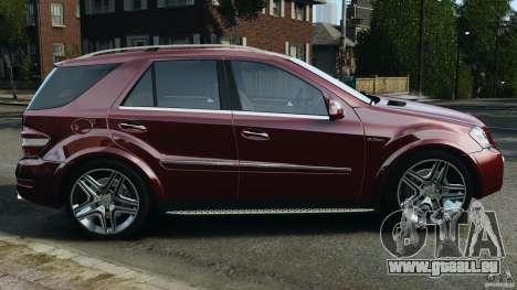 Mercedes-Benz ML63 (AMG) 2009 pour GTA 4 est une gauche