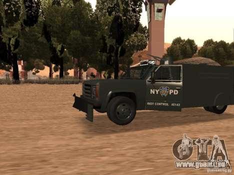GMC SIERRA 3500 für GTA San Andreas linke Ansicht