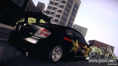 Scion TC Rockstar Team Drift für GTA San Andreas linke Ansicht