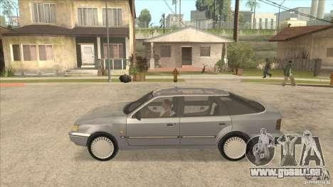 Ford Scorpio pour GTA San Andreas sur la vue arrière gauche
