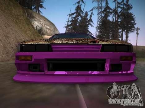 Nissan Silvia S13 Team Burst für GTA San Andreas obere Ansicht