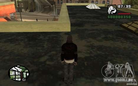 Alex Mercer v2.0 für GTA San Andreas her Screenshot