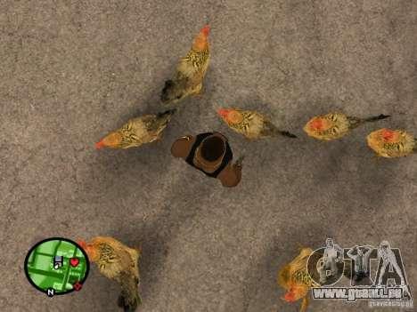 Hühner in GTA San Andreas für GTA San Andreas zweiten Screenshot