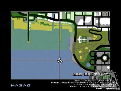 La villa de la noche beta 1 pour GTA San Andreas troisième écran