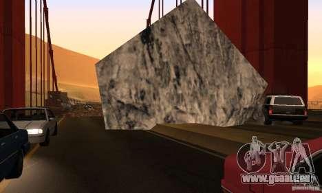 Zerstörte Brücke in San Fierro für GTA San Andreas sechsten Screenshot