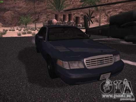 Ford Crown Victoria 2003 für GTA San Andreas linke Ansicht