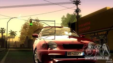 Toyota Corolla G6 Compact E110 EU für GTA San Andreas Rückansicht