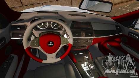 BMW X6 Hamann Evo22 no Carbon pour GTA 4 Vue arrière