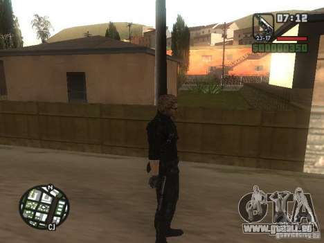 Wesker von RE5 für GTA San Andreas her Screenshot