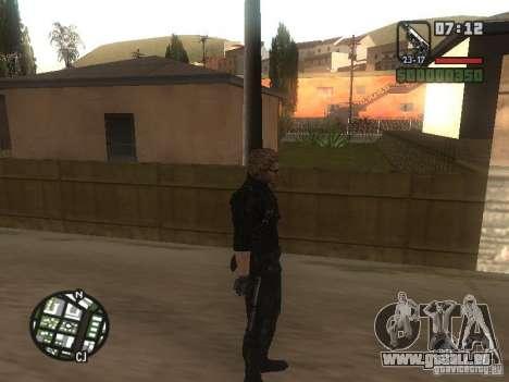 Wesker de RE5 pour GTA San Andreas quatrième écran