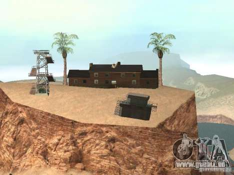 Landhaus für GTA San Andreas