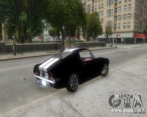 Ford Mustang Tokyo Drift pour GTA 4 Vue arrière de la gauche
