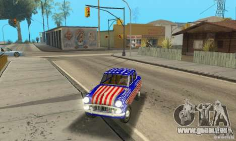 Moskvitch 407 1958 pour GTA San Andreas salon