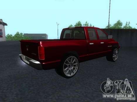 Dodge Ram 1500 v2 für GTA San Andreas linke Ansicht