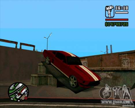Ford Mustang 67 HotRot für GTA San Andreas