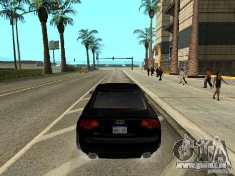 Audi RS 4 pour GTA San Andreas laissé vue
