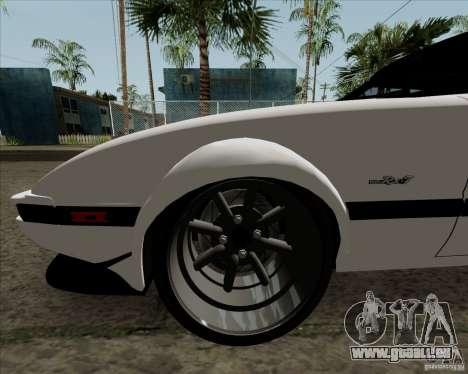 Mazda RX-7 FB Race für GTA San Andreas Seitenansicht