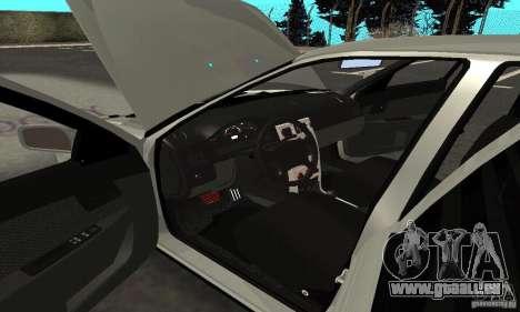 Lada Priora Hatchback pour GTA San Andreas vue de dessous