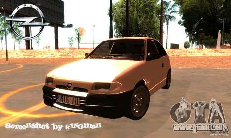 Opel Astra 1993 pour GTA San Andreas