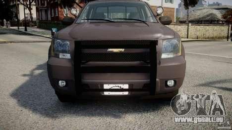 Chevrolet Tahoe Indonesia Police pour GTA 4 est un côté
