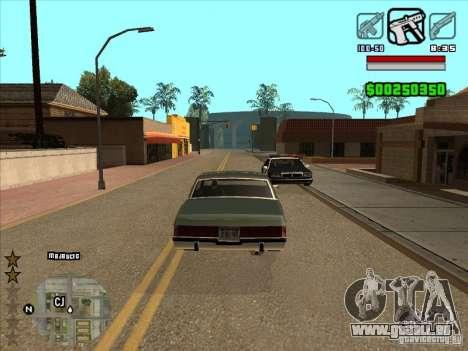 HUD by Alex für GTA San Andreas zweiten Screenshot