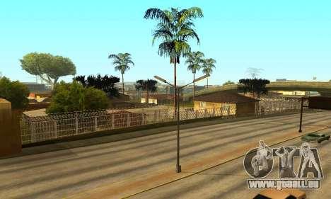 Zaun um den Groove-Sreet für GTA San Andreas