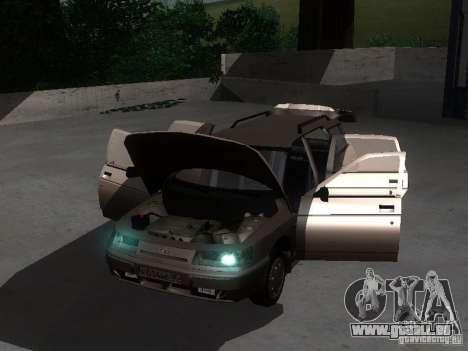 VAZ 21114 für GTA San Andreas Innenansicht