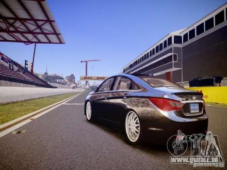 Hyundai Sonata 2011 pour GTA 4 Vue arrière de la gauche