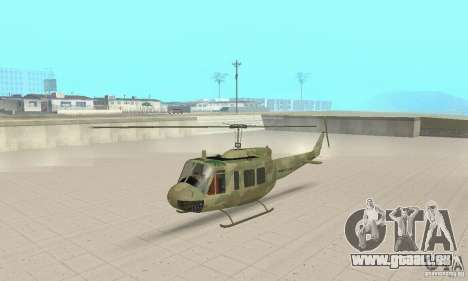 UH-1 Iroquois (Huey) pour GTA San Andreas