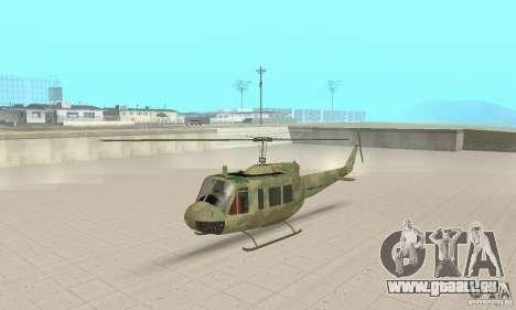 UH-1 Iroquois (Huey) für GTA San Andreas