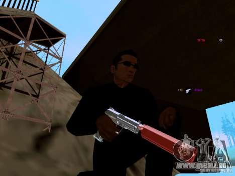 Ice Weapon Pack für GTA San Andreas zweiten Screenshot