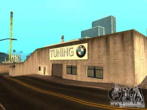 Concessionnaire BMW à San Fierro pour GTA San Andreas troisième écran