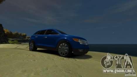 Ford Edge 2007 pour GTA 4 Vue arrière