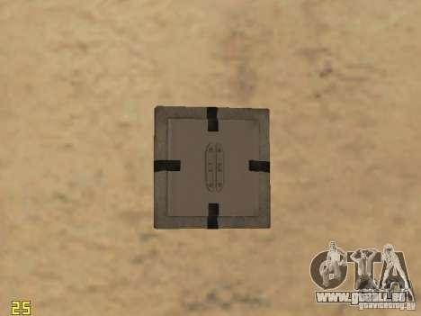 Les explosifs de cod mw2 pour GTA San Andreas
