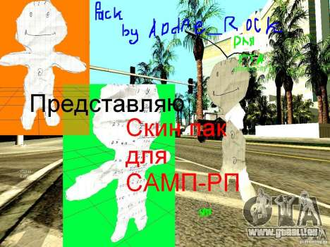 Skin Pack pour SAMP-RP pour GTA San Andreas