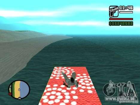 Fliegender Teppich für GTA San Andreas sechsten Screenshot