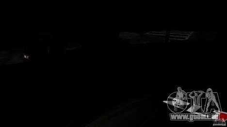 Chevrolet Camaro ZL1 pour GTA 4 est une vue de l'intérieur
