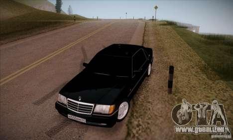 Mercedes-Benz 600SEL AMG 1993 pour GTA San Andreas vue arrière