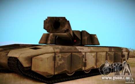 A-8 Tiger pour GTA San Andreas vue arrière