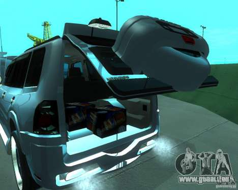 Mitsubishi Pajero STR I pour GTA San Andreas vue arrière