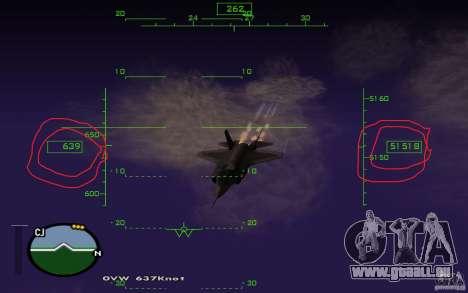 Vol dans la mésosphère pour GTA San Andreas deuxième écran
