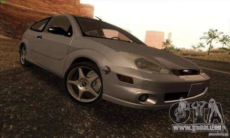 Ford Focus SVT TUNEABLE pour GTA San Andreas